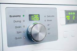interfejs pralki pokrętło